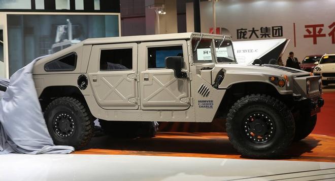 Humvee C-Series trinh lang anh 6