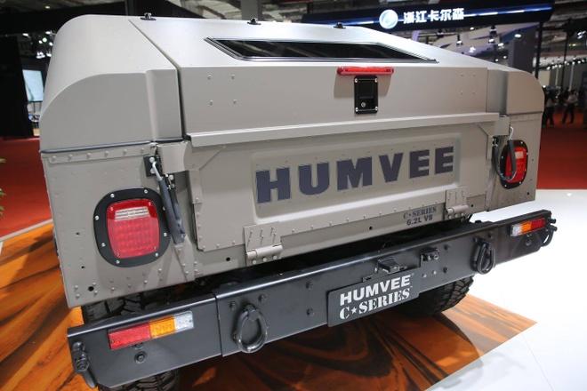Humvee C-Series trinh lang anh 5