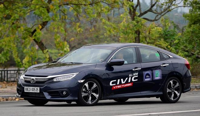 Ban tot tai Thai Lan, Honda Civic moi chat vat o Viet Nam hinh anh