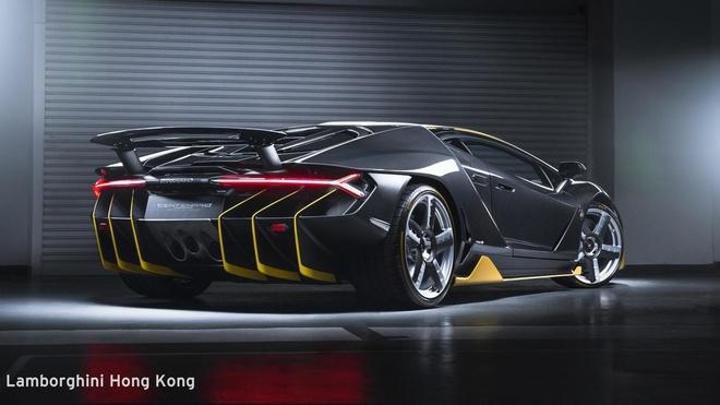 Sieu xe cuc hiem Lamborghini Centenario dau tien den chau A hinh anh 1