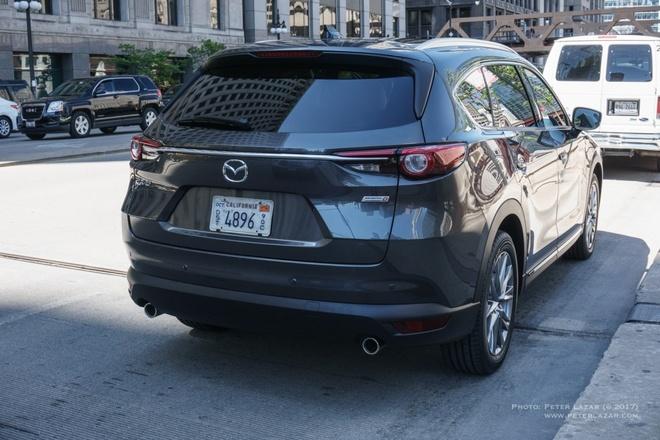 Mazda CX-8 lan dau xuat hien tren pho hinh anh 1