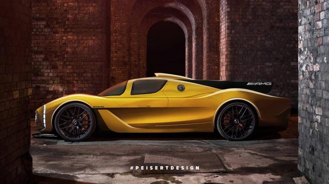 Mercedes-AMG cong bo thong tin sieu xe canh tranh Bugatti Chiron hinh anh