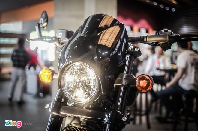 Moto Harley-Davidson 750 phan khoi, gia hon 400 trieu tai Ha Noi hinh anh 3