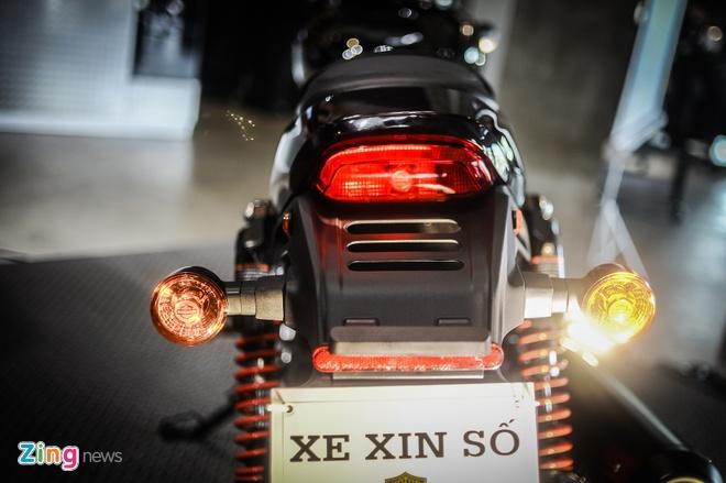Moto Harley-Davidson 750 phan khoi, gia hon 400 trieu tai Ha Noi hinh anh 7