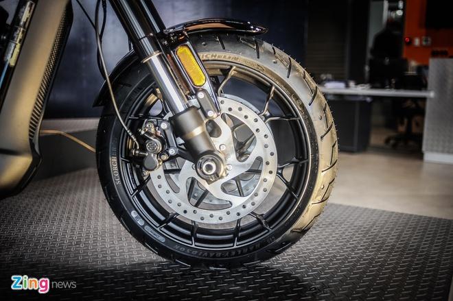 Moto Harley-Davidson 750 phan khoi, gia hon 400 trieu tai Ha Noi hinh anh 6