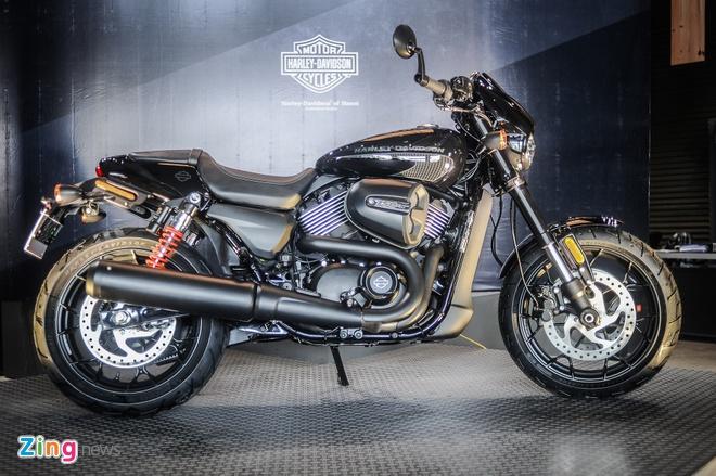 Moto Harley-Davidson 750 phan khoi, gia hon 400 trieu tai Ha Noi hinh anh 1