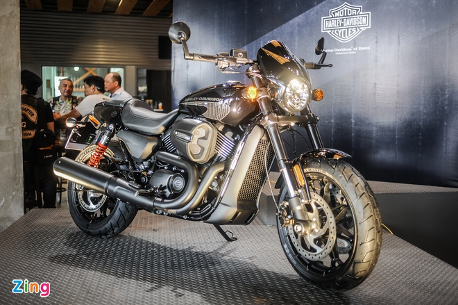 Harley-Davidson Street Rod 2017 ra mat anh 2