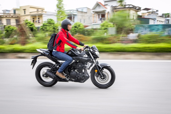 Yamaha MT-03 - naked bike danh cho so dong hinh anh