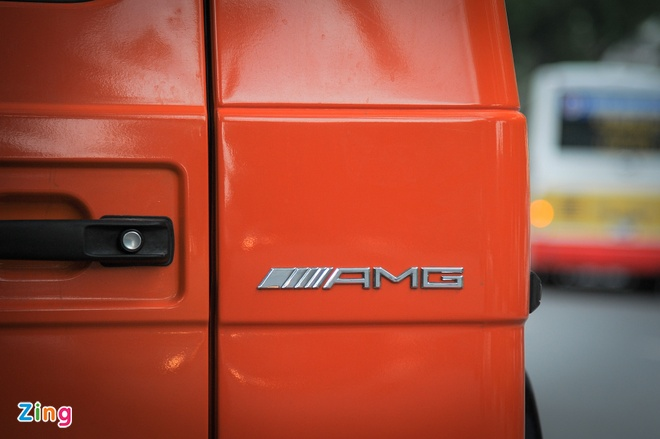 Mercedes G63 AMG mau cam noi bat tren duong pho Ha Noi hinh anh 6
