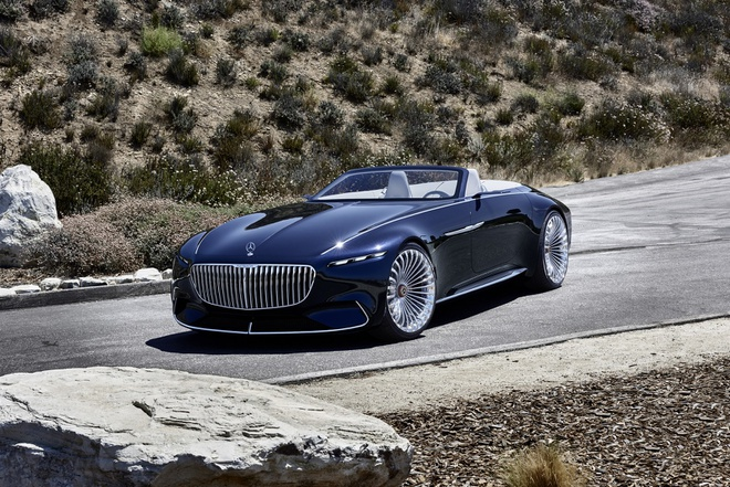 Maybach 6 Cabriolet concept - xe mui tran hang sang moi cua Mercedes hinh anh