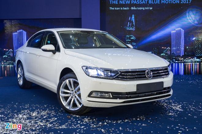Volkswagen Passat phien ban moi canh tranh Camry, Mazda6 tai Viet Nam hinh anh 15