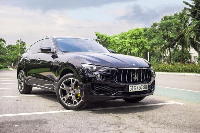 Maserati Levante - SUV hang sang dam chat the thao tu Italy hinh anh