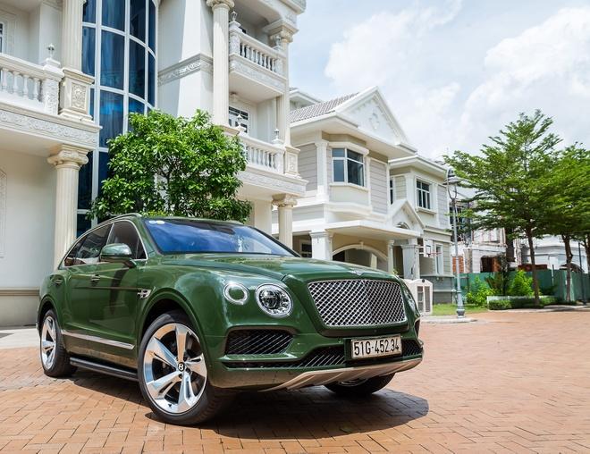 Bentley Bentayga W12 do chinh hang doc nhat tai Viet Nam hinh anh