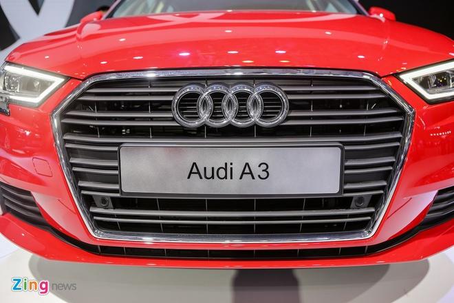 Audi A3 Sportback 2017 gia 1,55 ty tai Viet Nam hinh anh 4