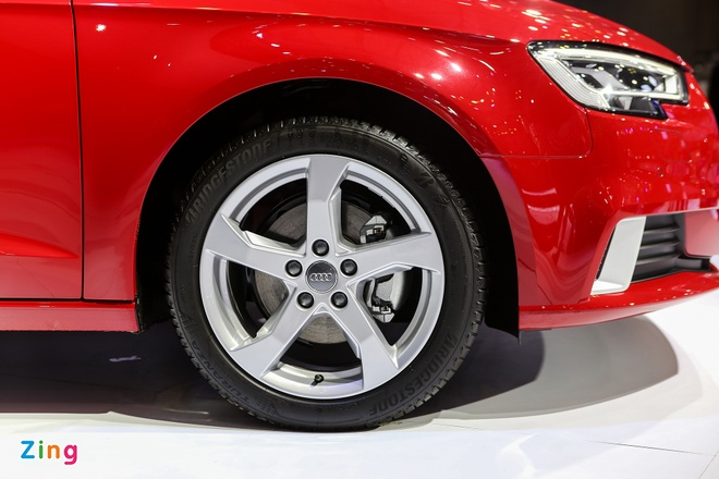 Audi A3 Sportback 2017 gia 1,55 ty tai Viet Nam hinh anh 8