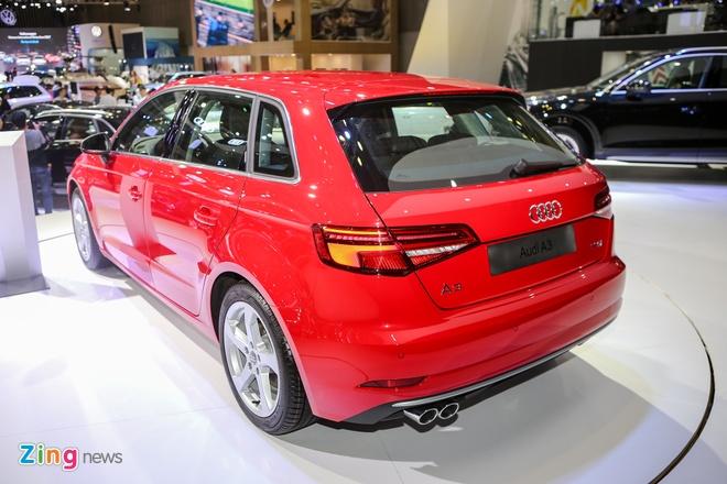 Audi A3 Sportback 2017 gia 1,55 ty tai Viet Nam hinh anh 7