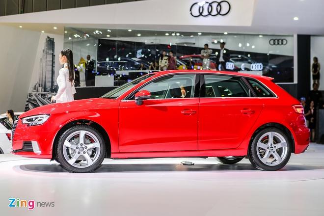 Audi A3 Sportback 2017 gia 1,55 ty tai Viet Nam hinh anh 3