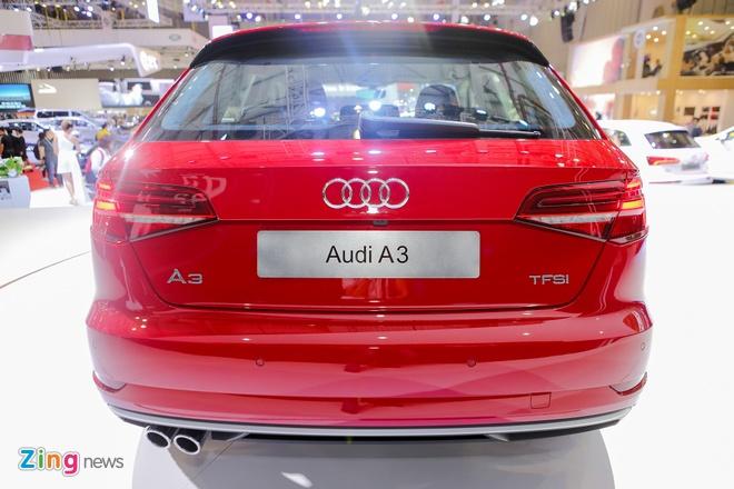 Audi A3 Sportback 2017 gia 1,55 ty tai Viet Nam hinh anh 6