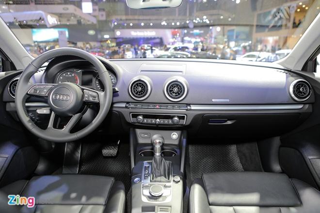 Audi A3 Sportback 2017 gia 1,55 ty tai Viet Nam hinh anh 9