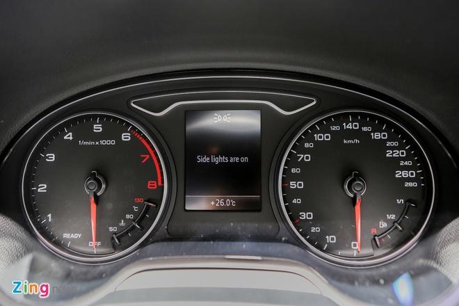 Audi A3 Sportback 2017 gia 1,55 ty tai Viet Nam hinh anh 11
