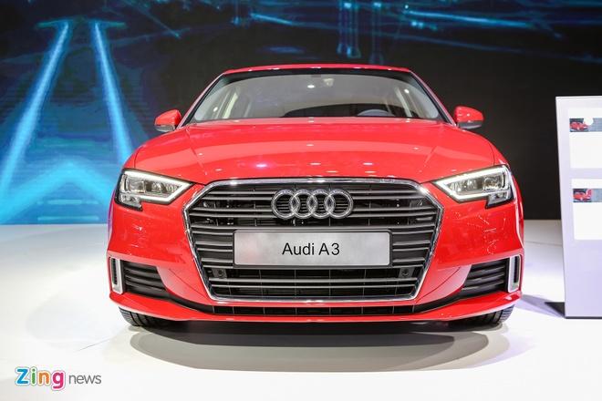 Audi A3 Sportback 2017 gia 1,55 ty tai Viet Nam hinh anh 1