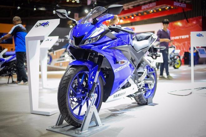 Yamaha YZF-R15 2017 ban chinh hang tai Viet Nam thang 11 hinh anh
