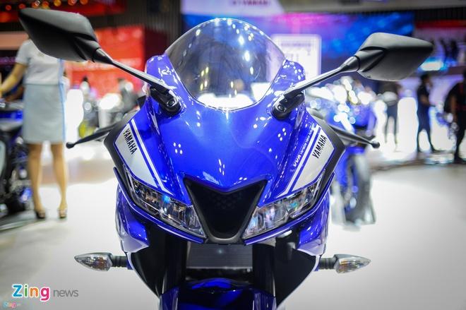 Yamaha YZF-R15 2017 ban chinh hang tai Viet Nam thang 11 hinh anh 2