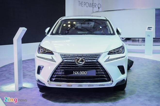 Lexus NX300 gia hon 2,4 ty dong, canh tranh Mercedes-Benz GLC hinh anh 1