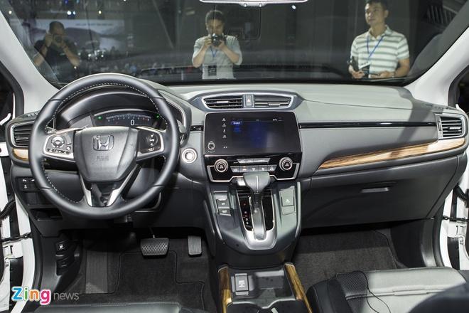 Honda CR-V 7 cho ra mat tai Viet Nam, gia duoi 1,1 ty dong hinh anh 2
