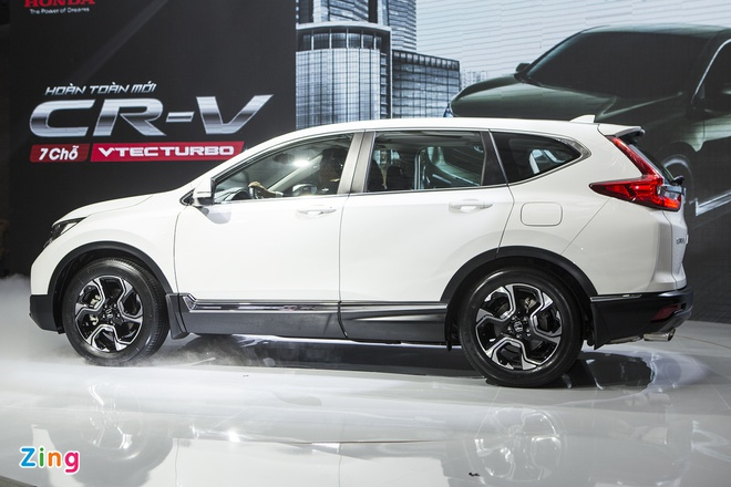 Honda CR-V 7 cho ra mat tai Viet Nam, gia duoi 1,1 ty dong hinh anh 3