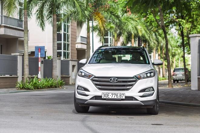 Danh gia Hyundai Tucson 2017: xe Han gia mem, doi dau xe Nhat hinh anh