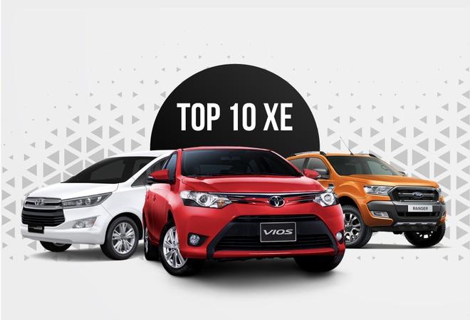 10 oto ban chay thang 11: Toyota Fortuner dung ngoai top 10 hinh anh