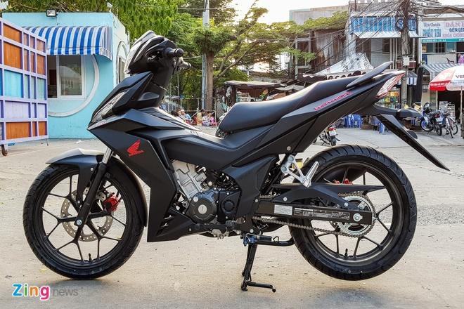 Honda Winner den mo hiem xe, Yamaha Exciter moi gia on dinh hinh anh 1