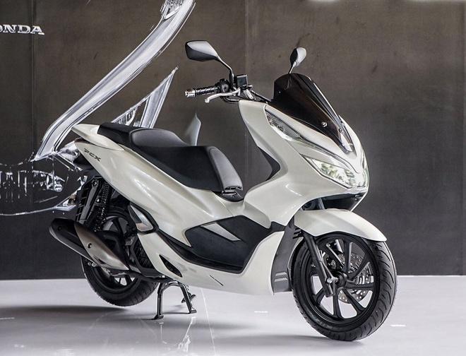 Honda PCX 2018 them dong co 150 cc, ban tai VN tu thang 1 hinh anh