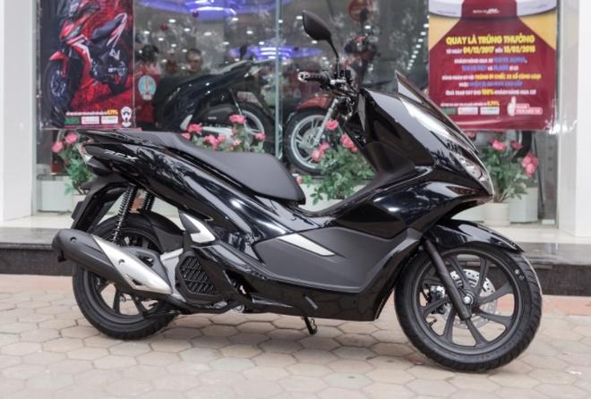 Chi tiet Honda PCX 2018 moi ban tai Viet Nam hinh anh