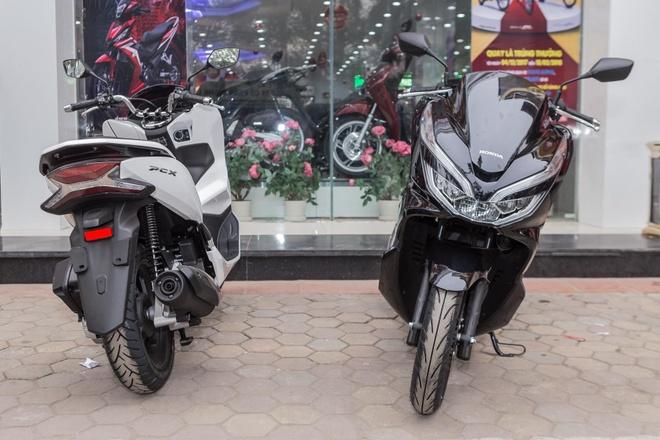 Nhung thay doi chinh cua Honda PCX 2018 so voi the he cu hinh anh