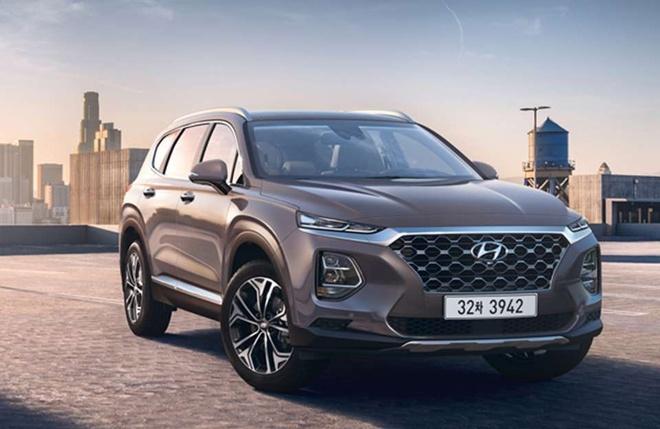 Hyundai Santa Fe 2018 nhieu thay doi, them trang bi hinh anh