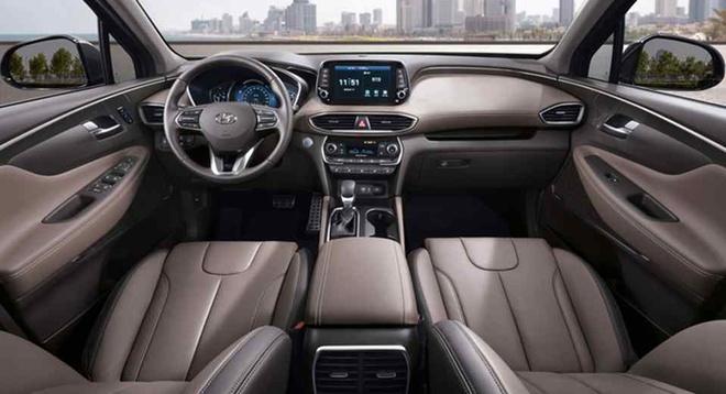 Hyundai Santa Fe 2018 nhieu thay doi, them trang bi hinh anh 2