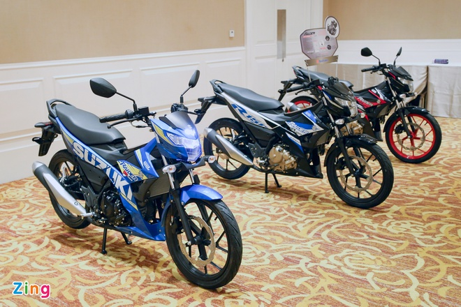 Suzuki trieu hoi 4.000 chiec Raider tai Viet Nam hinh anh 1