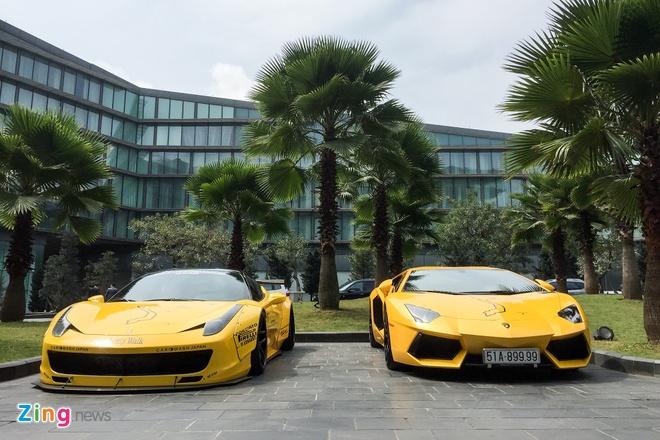 Dan sieu xe trieu USD do bo Ha Noi chuan bi cho Car & Passion hinh anh 3