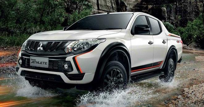 Mitsubishi Triton them phien ban the thao tai Viet Nam hinh anh