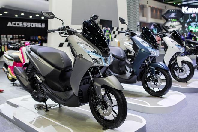 Yamaha Lexi - xe tay ga 125 phan khoi moi ra mat hinh anh