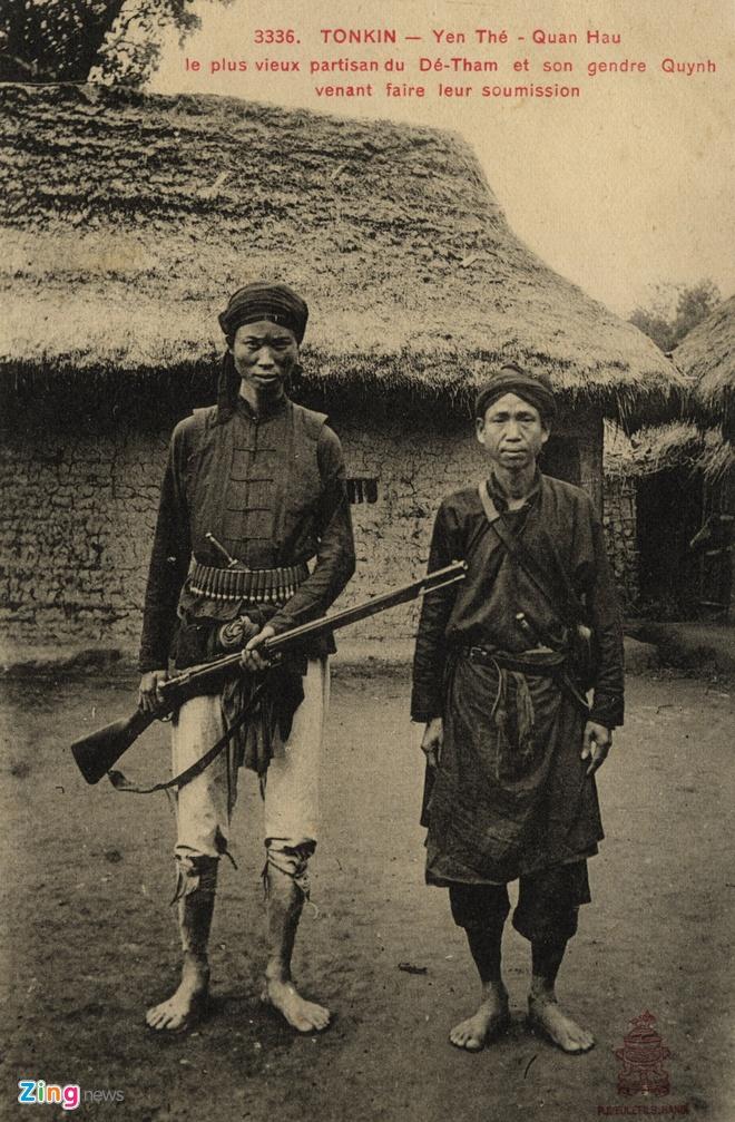 Nguoi Phap luu giu anh doc ve 'Hum thieng Yen The' hinh anh 10 Nghĩa quân Yên Thế.