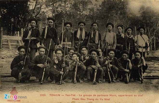 Nguoi Phap luu giu anh doc ve 'Hum thieng Yen The' hinh anh 4 Nghĩa quân Yên Thế.