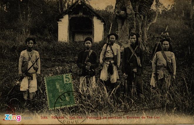 Nguoi Phap luu giu anh doc ve 'Hum thieng Yen The' hinh anh 5 Nghĩa quân Yên Thế.