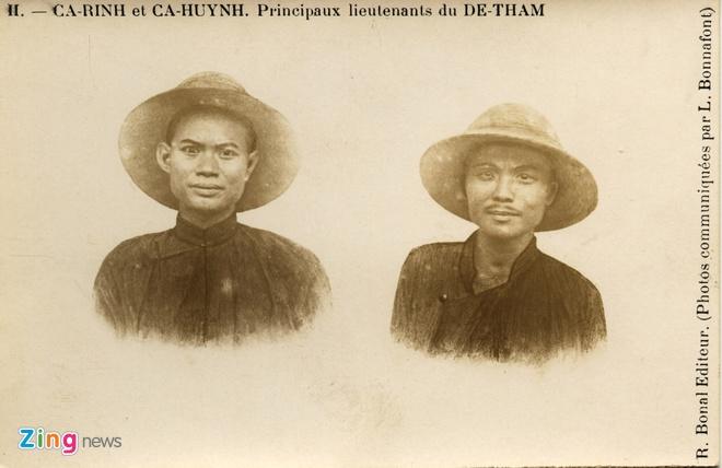 Nguoi Phap luu giu anh doc ve 'Hum thieng Yen The' hinh anh 6 Một bức ảnh hiếm về 2 người con của Hoàng Hoa Thám, Cả Rinh và Cả Huỳnh.