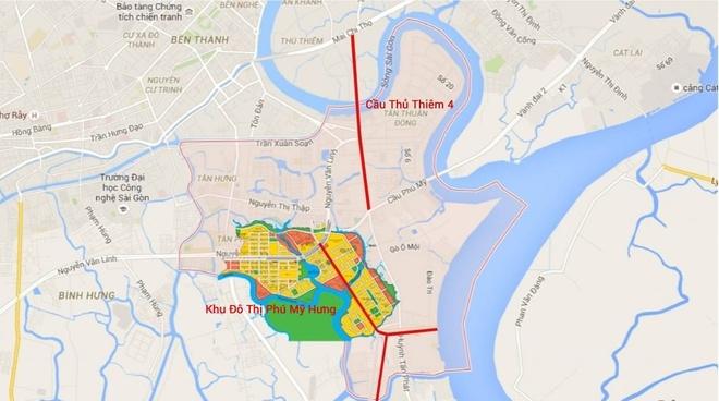 Hon 5.200 ty xay cau Thu Thiem 4 dai 2,1 km hinh anh 2