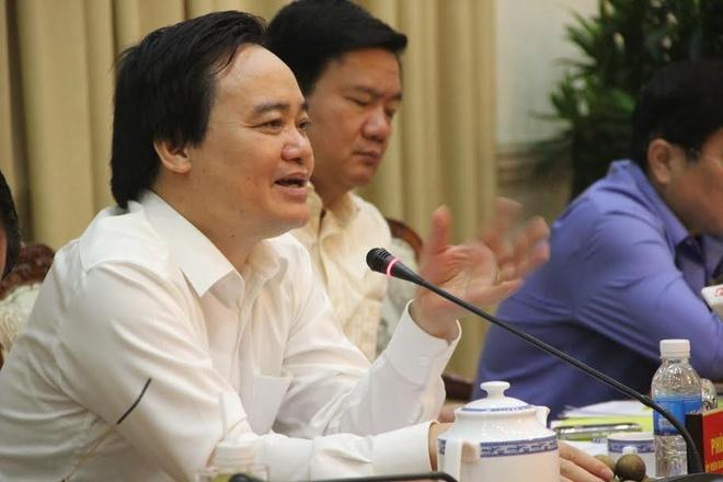 Bo truong Phung Xuan Nha: Som xay dung luat giao vien hinh anh