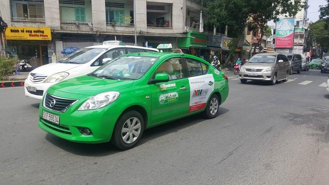 Taxi Mai Linh o Sai Gon du kien chuyen sang chay bang dien hinh anh 1