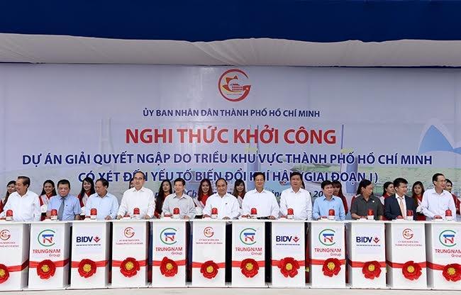 TP HCM khoi cong du an chong ngap 10.000 ty dong hinh anh 1